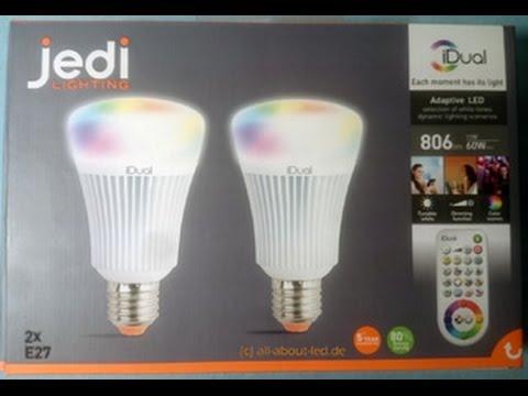 Jedi Lighting iDual LED review - YouTube