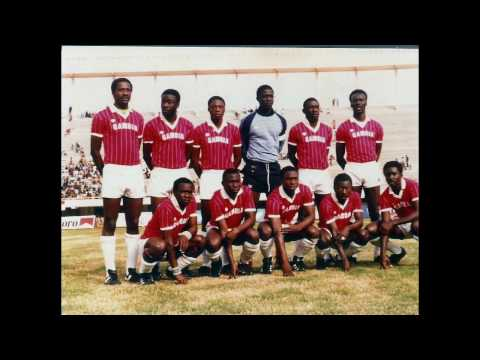 Aziz Corr (School Boy International). Gambian football legend (Scorpions & Young Africans)