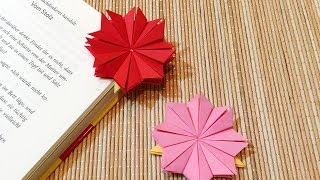 DIY - Origami Bookmark - วิธีพับที่คั่นหนังสือ