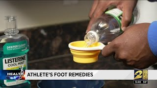 How to help knock out Athlete's Foot