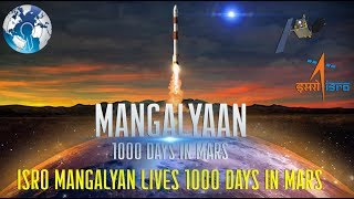 ISRO Mangalyaan sent for 180 days but lives for 4 years in Mars