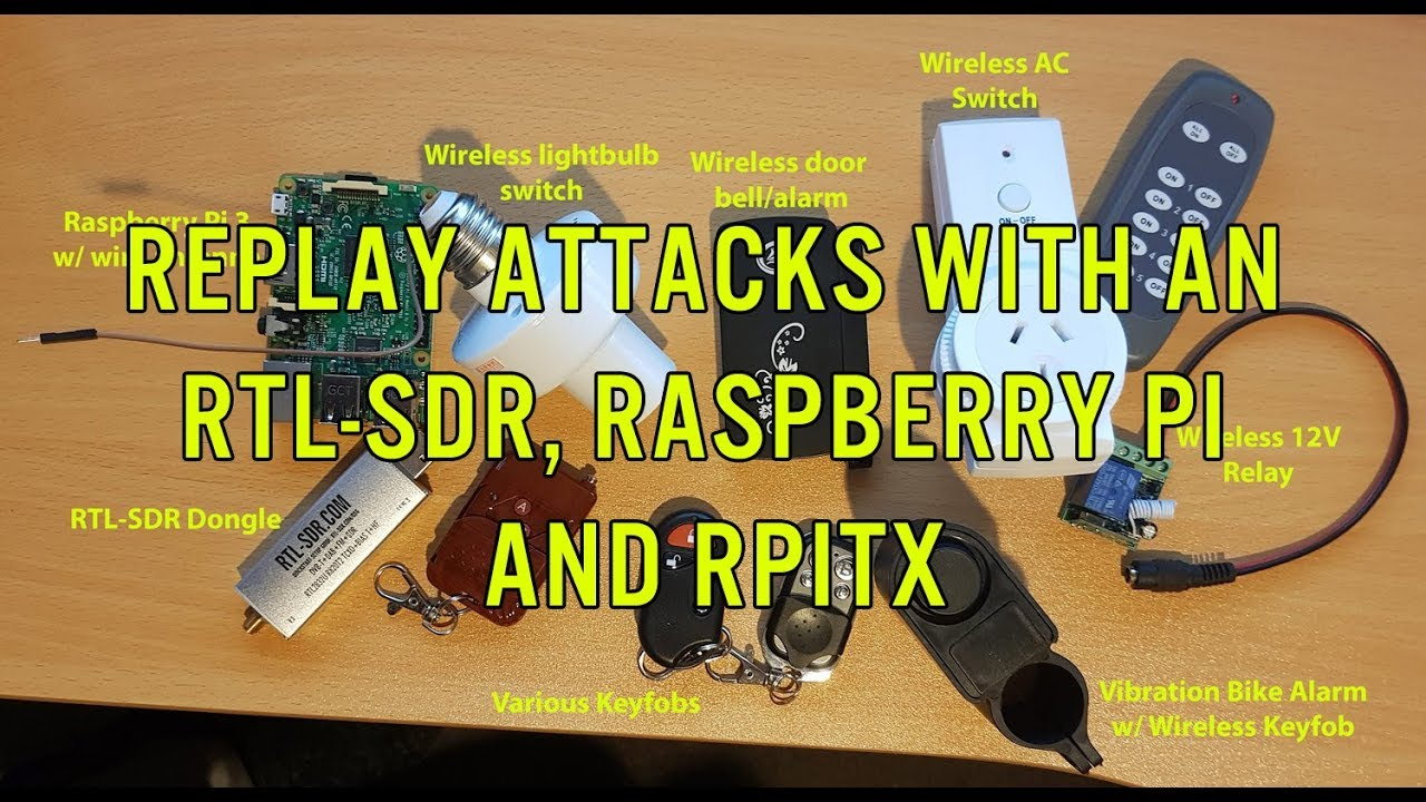 Use Raspberry Pi for radio receiving and re-transmitting |