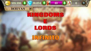 Como baixar KINGDOMS E LORDS infinito!! -D3R1V4N BR-