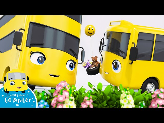 Mother's Day - Go Buster   BRAND NEW   Cartoons For Kids   Bus Videos For Kids   Little Baby Bum