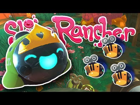 Royal Drones in the Royal Honey-Tabby Apiary!! ☄️ Slime Rancher! Drone Update!!