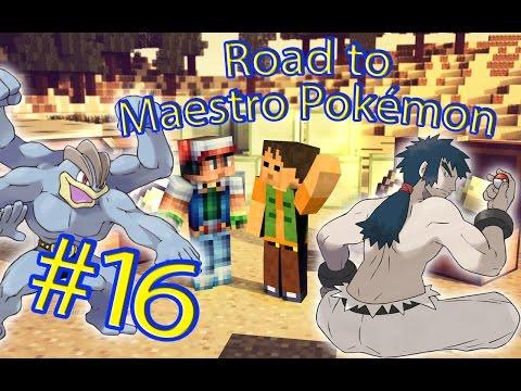 EL GRAN MARCOS ROJO! | Road to Maestro Pokémon Episodio 16 | Minecraft Mods Serie Fran MG y Nilcobax