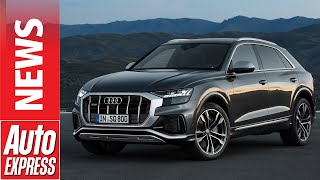 New Audi SQ8 revealed - coupe SUV gains 429bhp V8 diesel power