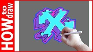 Как нарисовать граффити буквы, Х № 1(INSTAGRAM: https://www.instagram.com/dmitrysyrman/ Я в ВКОНТАКТЕ: http://vk.com/syrman_d Группа в ВКОНТАКТЕ: http://vk.com/public59608073 I'm on ..., 2016-09-27T02:13:25.000Z)