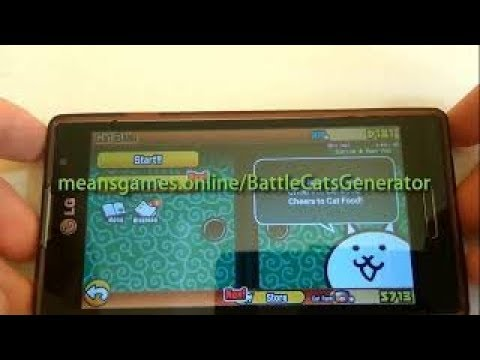 The Battle Cats hack 2019 - 🤑 Cat Food and XP 🤑 (Android/iOS)