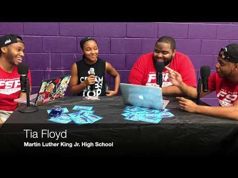 2017 Skillz Academy Participant: Tia Floyd (Martin Luther King Jr. High School)