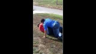 Street wrestling Pt 2 Big Men (HighLife)