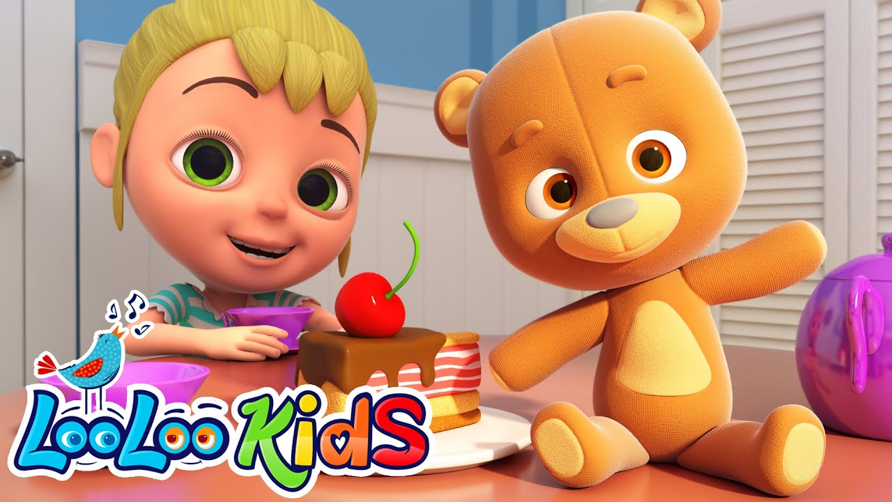 Teddy Bear | Learning Kids Songs | LooLoo KIDS Nursery Rhymes and Children`s Songs