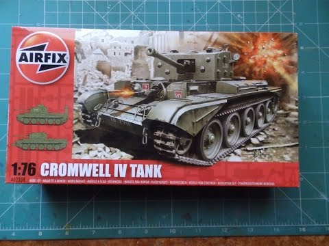 1/76 Airfix Cromwell IV Build