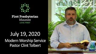 &quotRecipe for Sustaining Faith&quot - July 19, 2020 - Modern Presbyterian Church Worship Service