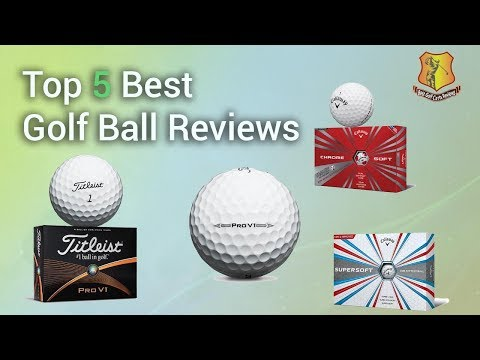 Top 5 Best Golf Ball Reviews