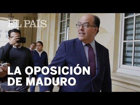 VENEZUELA   El diputado opositor Julio Borges dice que su posición hace daño a Maduro