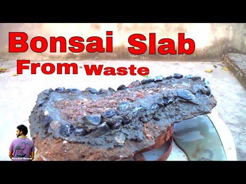 ऐसे बनाये फर्श के टूटे टुकड़े से बोन्साई ट्रे /Bonsai Pot From Waste -22nd July 2017/Mammal Bonsai