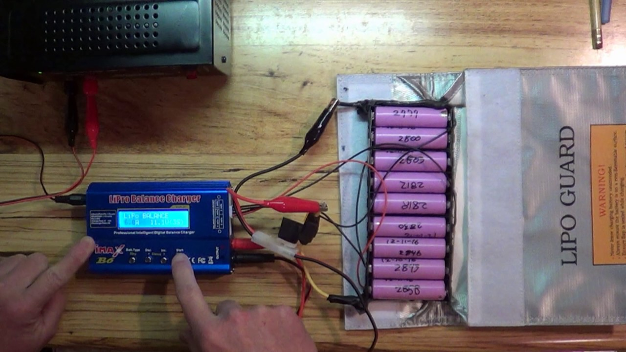 Diy Solar And 18650 Lithium Battery Balance Charging With