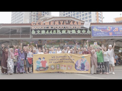 Video of Consent - Hawkers in Singapore