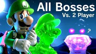 Luigi's Mansion 3 - All Bosses + Secret Boss (2 Player Co-Op)