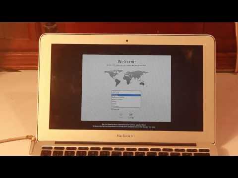 Hướng Dẫn Cách Cài đặt Lại Macbook
