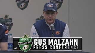 Gus Malzahn, Auburn players speak after Music City Bowl