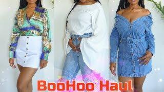 Spring BooHoo Curvy Girl Clothing Haul| Affordable & Stylish