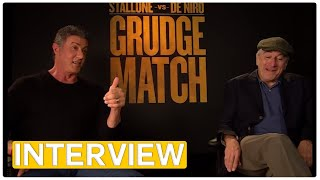 Sylvester Stallone & Robert De Niro | Grudge Match EXCLUSIVE Interview (2014)
