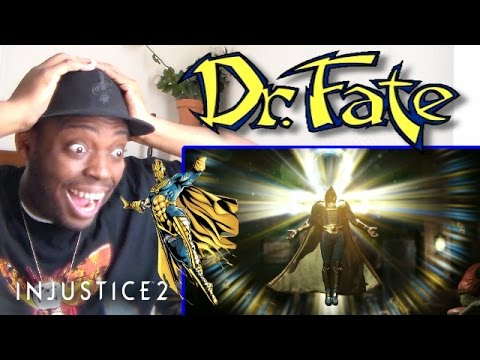 Injustice 2: Doctor Fate Gameplay Reveal Trailer REACTION!!!