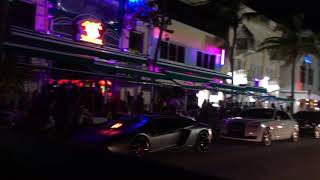 Ocean Drive, South Beach, Miami Beach, Miami, FL, USA Oct 2017