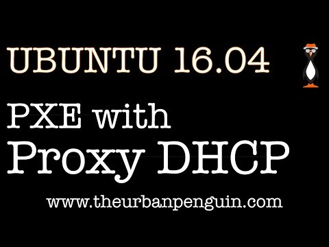 PXE with Proxy DHCP