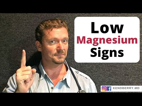 Magnesium Deficiency: 9 Signs You Should Know - 2020