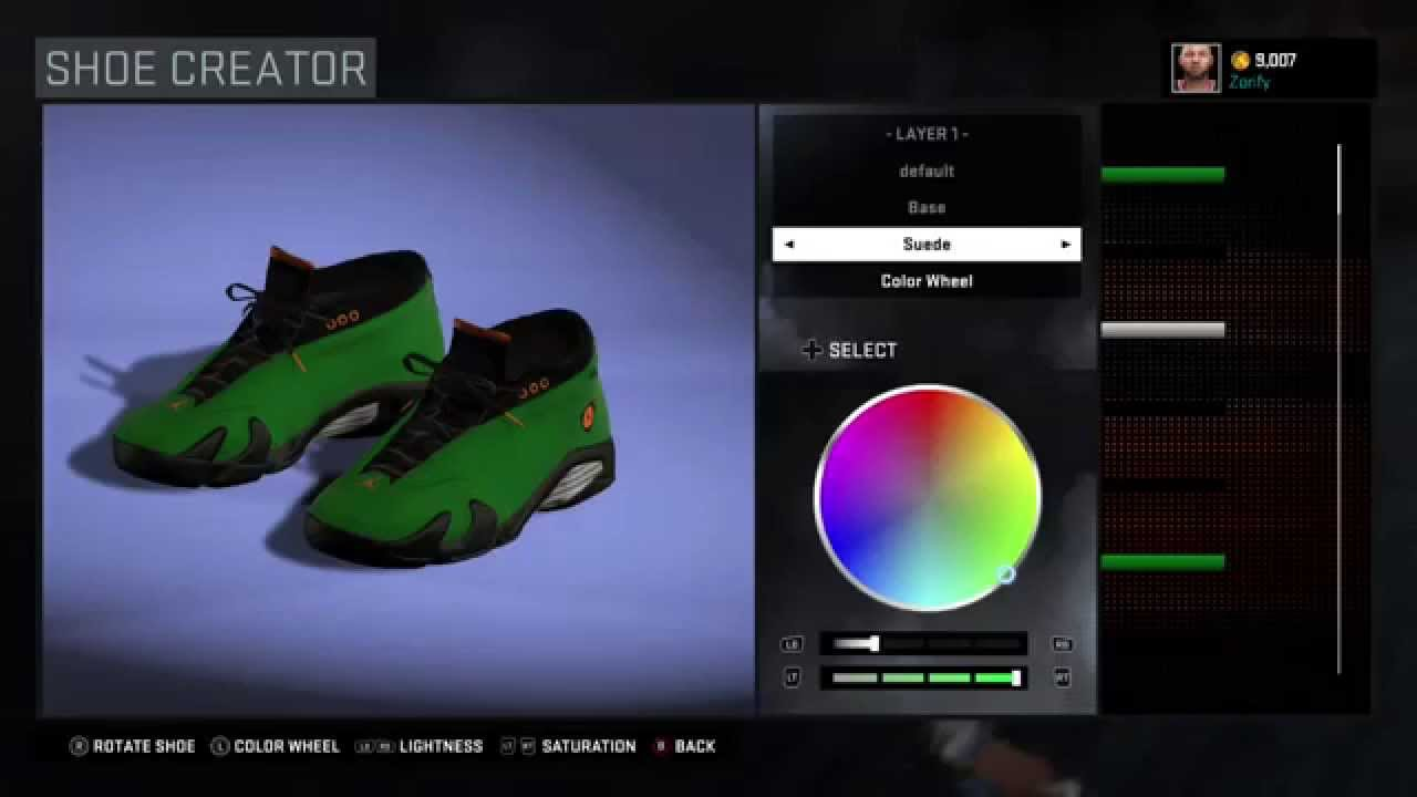a0c342af0141 NBA 2K16 Shoe Creator - Air Jordan 14 Low Custom