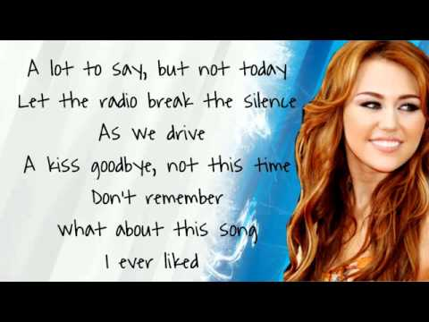 Miley Cyrus - The Driveway  |Lyrics&Download|