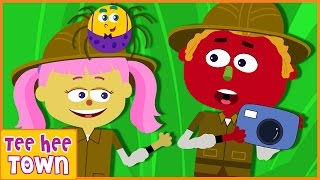Jungle Song | Jungle Jungle Here We Come to You | Original Songs | Nursery Rhymes for Children