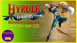Hyrule Warriors (Switch): Great Sea Map H15 - Impa