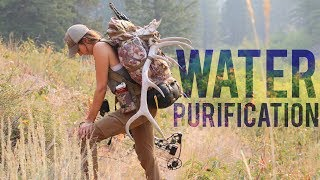 My NEW Water Purification System for Hunting, Backpacking and Camping!