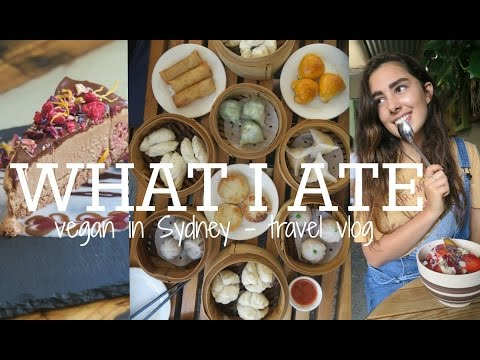 WHAT I ATE IN SYDNEY | TRAVEL VLOG - DAY FOUR TO SIX