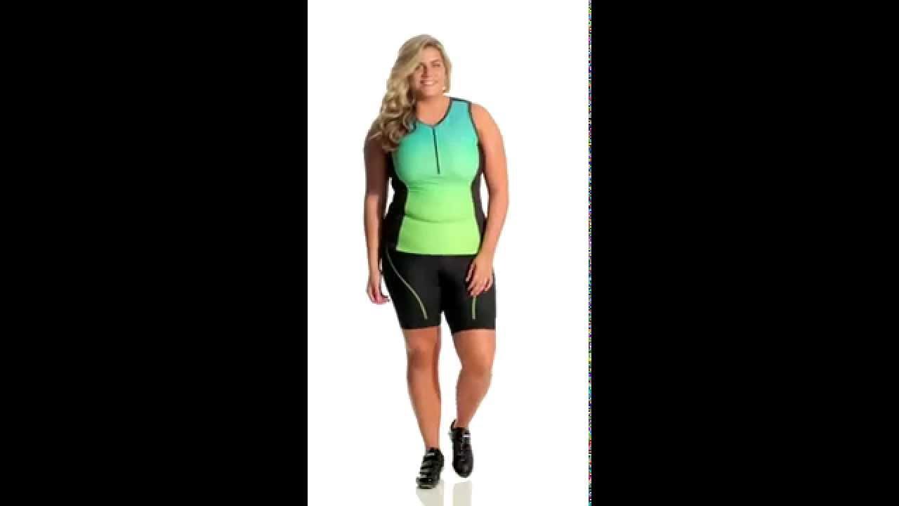 3bab6e61d Shebeest Women s Racegear Plus Size Tri Shorts