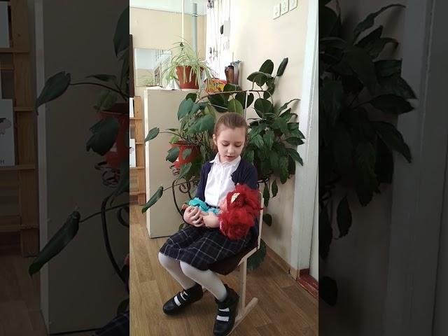 Изображение предпросмотра прочтения – ДарьяРаецкая читает отрывок изпроизведения «Баю-баюшки-баю» (Русский фольклор )