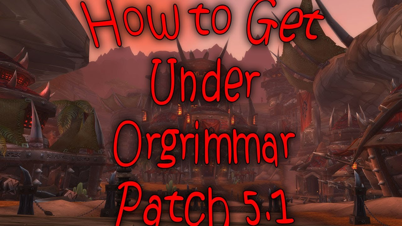world of warcraft how to get orgrimmar from pandaria