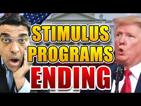 THESE FIVE STIMULUS PROGRAMS WILL END SOON (and WORLD REACTION)