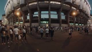 NIVEA MEN uvádza: Zažite štadión Realu Madrid na vlastnej koži (360° video)