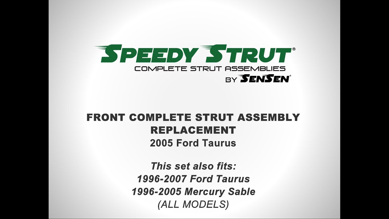 2 Front Complete Struts With Springs Fits Taurus Sable with Lifetime Warranty