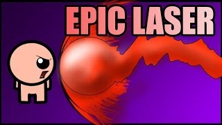 ISAAC'S BEST RUN [EPIC LASER] - The Binding of Isaac #11