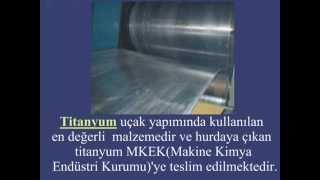 Mehmet Şanver Titanyum Hırsızlığı