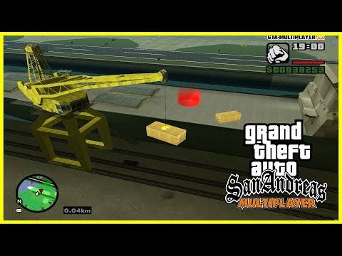 JEDINÝ JOB V CELÉM SA-MP! (GTA San Andreas Multiplayer #54)