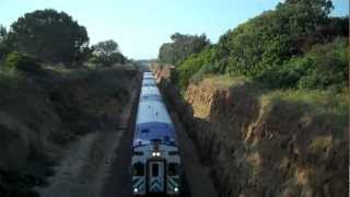 Shots Above the Train in Solana Beach, CA - 5/16/12