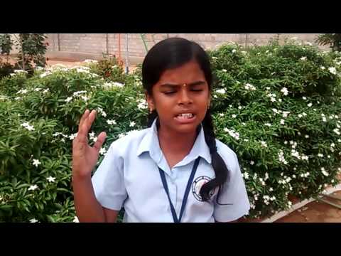 PEM SCHOOL-TAMIL SPEECH BY' PIRAKALYA