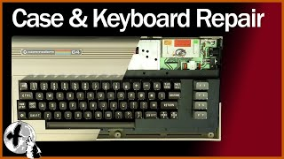Commodore 64 Case Repair and Full Keyboard Service ⌨